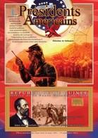 Guinea, 2010. [gu10513] US Presidents, James A. Garfield (s/s+block) - George Washington