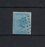N°18 GESTEMPELD Pt1 Aeltre COBA € 10,00 SUPERBE - 1865-1866 Profil Gauche