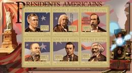 Guinea, 2010. [gu10515] US Presidents, Grover Cleveland (s/s+block) - George Washington