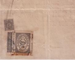 F-EX16355 ESPAÑA SPAIN 1892 REVENUE NOTARIOS ESCRIBANOS NOTARIES LAWYER . MADRID 3 Ptas. SERIE I. - Revenue Stamps