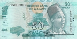 MALAWI 50 KWACHA 2017 UNC P 64 D - Malawi
