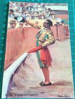 Bullfighting ~ Brindis Del Matador ~ Bull ~ Artist Signed - Corrida