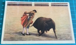 "Bullfighting ~ ""Nino De La Palma"", En Un Lance De Capa ~ Matadors ~ Bull - Corrida"