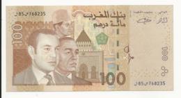 Morocco 100 Dirhams 2002 Almost UNC - Morocco