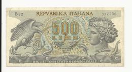Italy 500 Lire EF Or Near - [ 2] 1946-… : République
