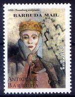 Antigua & Barbuda 2000 MNH, Millennium, Master Sculpture Of Naumburg ( - Sculpture
