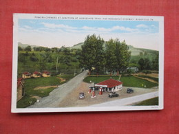Gas Station  Roosevelt  Highway  Mansfield - Pennsylvania      Ref  3480 - United States