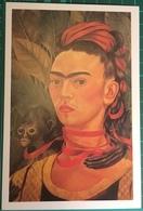Frida Kahlo (1907-1954) ~ Self Portrait With Monkey, 1940 - Paintings