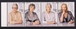 Australia 2011 Legends - Women, Equality Strip Of 4 CTO - 2010-... Elizabeth II