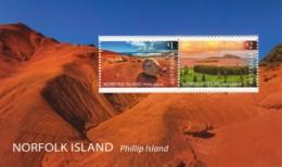 Norfolk Island 2019 Phillip Island Landscapes Minisheet MNH - Norfolk Island