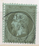 N°19 NUANCE ET OBLITERATION - 1862 Napoléon III