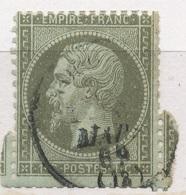 N°19 NUANCE ET OBLITERATION - 1862 Napoleon III