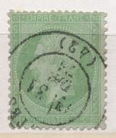 N°20 NUANCE ET OBLITERATION - 1862 Napoléon III