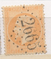N°23 NUANCE ET OBLITERATION - 1862 Napoleon III