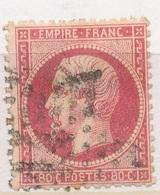 N°24 NUANCE ET OBLITERATION - 1862 Napoleon III