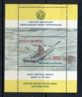 Indonesia 1980 Rubber Raft In Rapids MS MUH - Indonesia