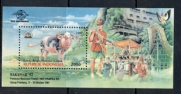 Indonesia 1997 Sulawesi Stamp Ex MS MUH - Indonesia