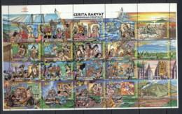 Indonesia 1998 Indonesian Folktales Sheetlet MUH - Indonesia