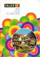 Catalogue FALLER Preiser 1984 Livre Cours à Votre Rêve HO 1/87 - Français