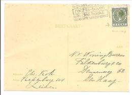 """Emissie Veth 5 Cent Onderzijde """"boekjes Tanding"""" Leiden 1937 - 1891-1948 (Wilhelmine)"""