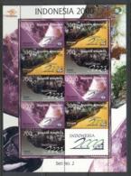 Indonesia 2000 Gemstones & Minerals MS MUH - Indonesia