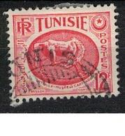 TUNISIE       N°  YVERT     343 A        OBLITERE       ( O   2/27 ) - Oblitérés