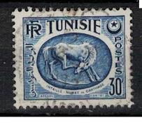 TUNISIE       N°  YVERT     345  B   OBLITERE       ( O   2/28 ) - Oblitérés