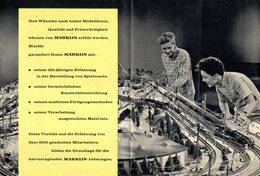 Catalogue MÄRKLIN QUALITÄT 1960 Informationblatt - Livres Et Magazines