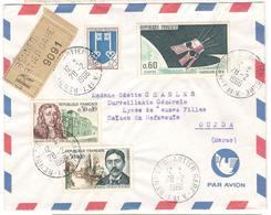 19657 - Recommadnée  Par Avion Pour La MAROC - Postmark Collection (Covers)