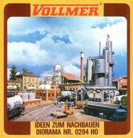 Brochure VOLLMER 1975 ? Ideen Zum Nachbauen Diorama Nr. 0284 HO - Livres Et Magazines