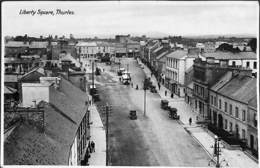 Liberty Square, Thurles (animation, Milton Series 1938 Real Photo.... Small Cut, Top Border) - Tipperary