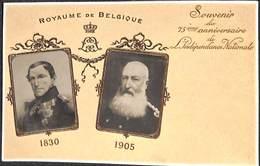 Royaume De Belgique - 75ème Anniversaire De L'Indépendance Nationale 1830-1905 (H M Dobrecourt) - Familles Royales