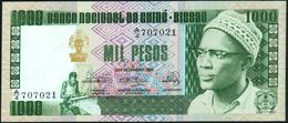 "GUINEA BISSAU - 1.000 Pesos 24.09.1978 {Sig. Titles: ""Primeiro Ministro""} AU-UNC P.8 B - Guinea-Bissau"