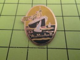 711e Pin's Pins / Beau Et Rare : THEME : BATEAUX / PAQUEBOT VOILIER R.A. A.M.A.P - Informatique
