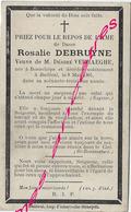 En 1905 Boeschèpe Et Bailleul (59) Rosalie DEBRUYNE Ep Désiré VERHAEGHE - Décès