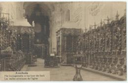 Averbode - Het Kunstgestoelte In Het Koor Der Kerk - Uitg. J. Wouters-Van Den Bulck, Averbode - Belgique