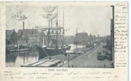 Gent - Gand - Les Docks - E.G. No 166 - 1900 - Gent