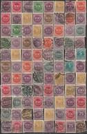 Germany Reich Numerals 1923 Small Accumulation (please Read Description) B190601 - Germany