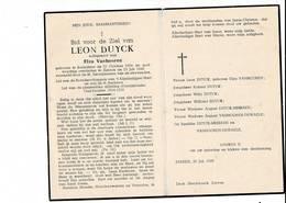 DP 8048 - LEON DUYCK - KOEKELARE 1894 + ZARREN 1949 - Devotieprenten