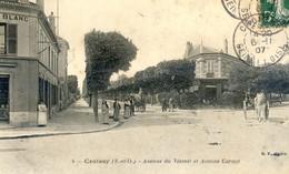 78 - Croissy - Avenue Du Vésinet Et Avenue Carnot - Croissy-sur-Seine