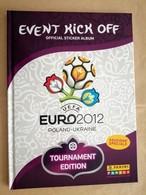 Euro 2012 Album Vuoto, Cartonato  Edizione Speciale Tournament Edition  Famyli Panini, Poland Ukraine Uefa - Edizione Italiana