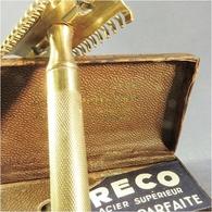* RASOIR GILETTE DANS SA BOITE- Rasage Barbier Barbe - Lames De Rasoir