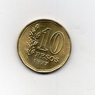 Argentina - 1977 - 10 Pesos - Vedi Foto - (MW2505) - Argentina