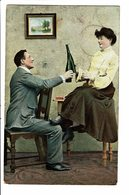 CPA - Carte Postale-Belgique Un Couple Trinquant 1907 VM4521 - Couples