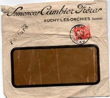 Semences Cambier Frères - Auchy Nord 1951 - Perforé CF Sur Gandon - Frankreich