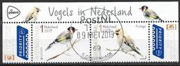 2019   Niederlande   Used   EUROPA  -NATIONAL BIRDS - 2019