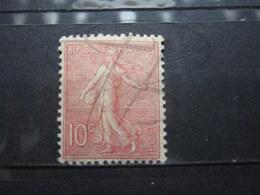 VEND BEAU TIMBRE DE FRANCE N° 129 , TYPE I , ROSE PALE , X !!! - 1903-60 Semeuse Lignée