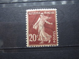 VEND BEAU TIMBRE DE FRANCE N° 139 , XX !!! (b) - 1906-38 Semeuse Con Cameo