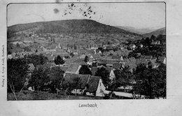 (117)  CPA   Lembach  (Bon Etat) - Other Municipalities