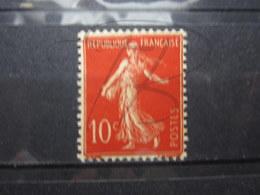 VEND BEAU TIMBRE DE FRANCE N° 135 , TYPE III , XX !!! - 1906-38 Semeuse Con Cameo